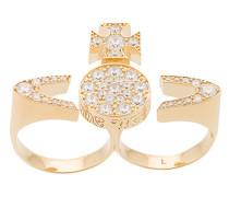 Vergoldeter 'Anatoly' Ring
