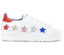 'Roger' Sneakers mit glitzernden Sternen