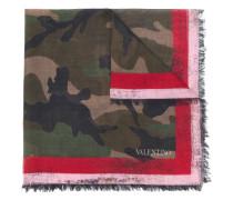 Schal mit Camouflagemuster