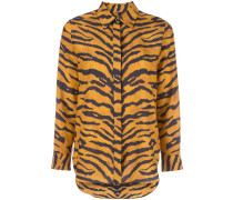 Hemd mit Tigermuster