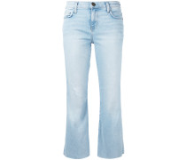 'The Kick' Cropped-Jeans