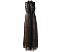 Kleid mit Sheer-Overlay