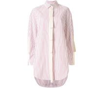 'Sunny Stripe' Oversized-Hemd