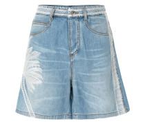 Shorts mit Palmen-Print