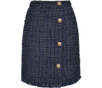 tweed buttoned skirt