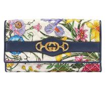 Portemonnaie mit Flora-Print