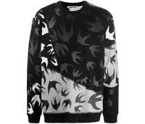 Sweatshirt mit Vogel-Print