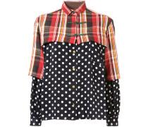 T-Shirt im Patchwork-Look