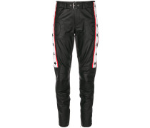 moto leather trousers