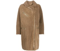 'Curly Merinillo' Shearling-Mantel