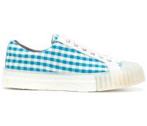 Sneakers mit Vichy-Karomuster