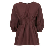 pintuck smocks blouse
