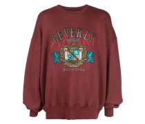 Sweatshirt mit Wappenstickerei
