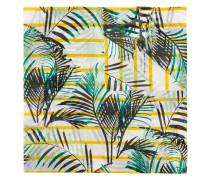 Schal mit Palmen-Print