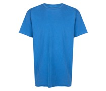 T-Shirt mit gerolltem Saum