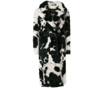 Mantel mit Animal-Print