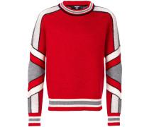 Wollpullover im Eishockey-Stil