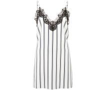 Camisole-Kleid mit Nadelstreifen