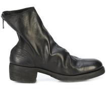 rear zip boots