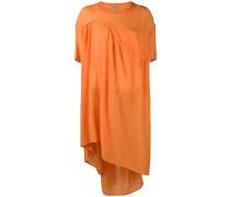 asymmetric flared dress