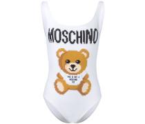Badeanzug mit Teddy-Print