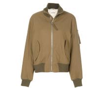 roll neck bomber jacket