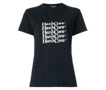 T-Shirt mit 'HardCore'-Slogan