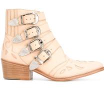 Cowboy-Stiefel mit Schnallen