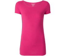 slim round neck T-shirt