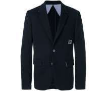 logo patch blazer
