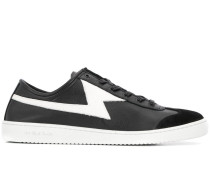 Sneakers mit Blitzmotiv
