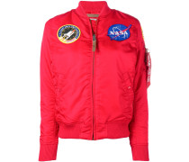 "Bomberjacke mit ""NASA""-Patch"