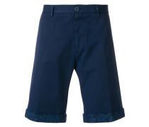 Bermuda-Shorts mit Gürtelschlaufen
