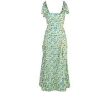 'Perla' Kleid mit Blumen-Print