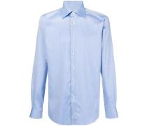 micro textured shirt