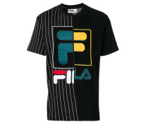 contrast logo T-shirt