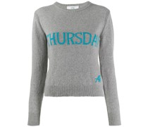 'Tuesday' Intarsien-Pullover