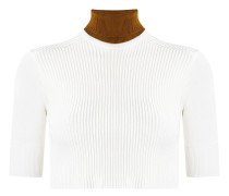 knit cropped top