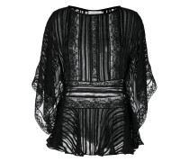 lace kaftan blouse