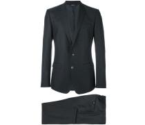 Anzug aus Seide und Schurwollgemisch