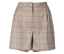 Shorts mit Karomuster