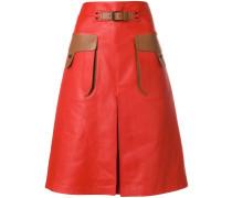 terracotta calf skirt