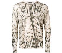Pullover mit Luchs-Print