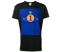 T-Shirt mit Orbit-Print