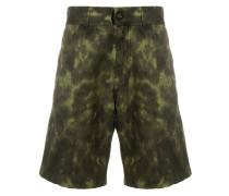 Cargo-Shorts mit Batikmuster