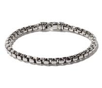 'Box Chain' Armband aus Sterlingsilber