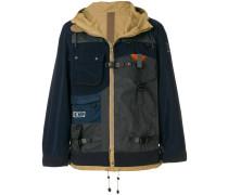 cargo hooded jacket