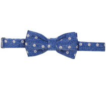 floral embroidered bow tie