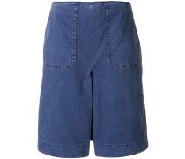 Worker denim shorts