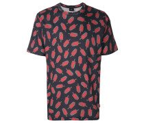 T-Shirt mit Eis-Print